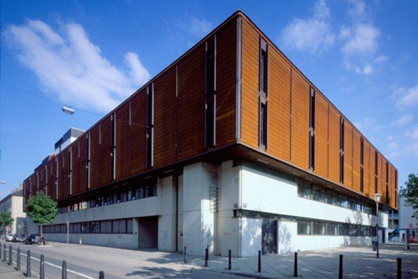 Neubau Landgericht Mannheim 1970